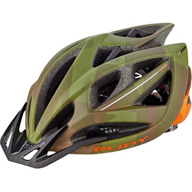 Rudy Project Airstorm MTB Kask rowerowy, olive green/orange camo